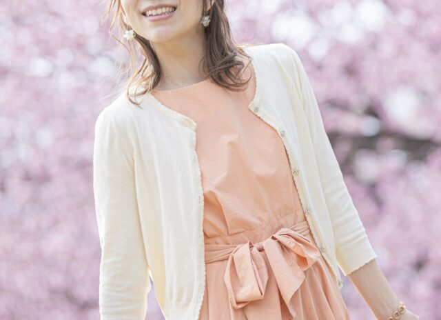 花見 桜 一人