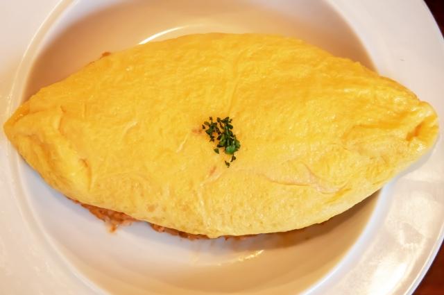 オムライス 卵 くっつく