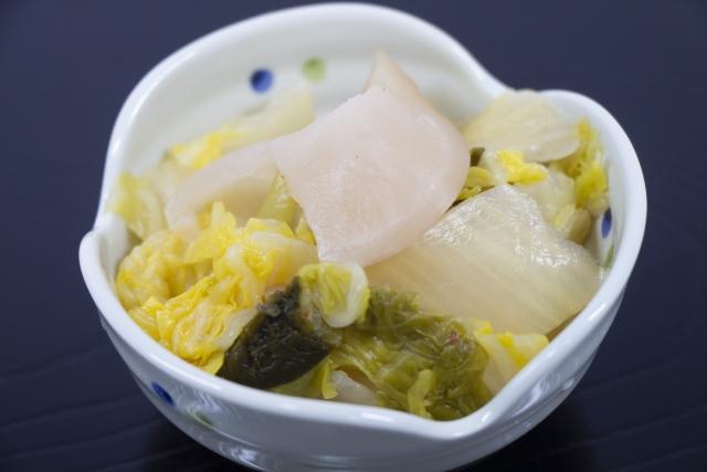 白菜 漬物 冷凍